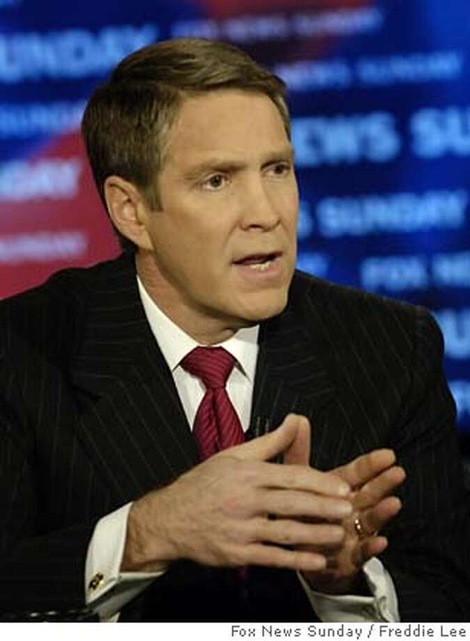 """In this photo provided by FOX News, Senate Majority Bill First appears during the taping of """"FOX News Sunday"""" at the FOX studios in Washington, Sunday, Dec. 11, 2005. First said he would unequivocally support the use of the 'nuclear option' if the Democrats try to filibuster the Supreme Court nomination of Judge Samuel Alito.(AP Photo/FOX News Sunday, Freddie Lee) MANDATORY CREDIT: FREDDIE LEE, FOX NEWS Sunday MANDATORY CREDIT: FREDDIE LEE, FOX NEWS SUNDAY, NO ARCHIVES Photo: FREDDIE LEE"""