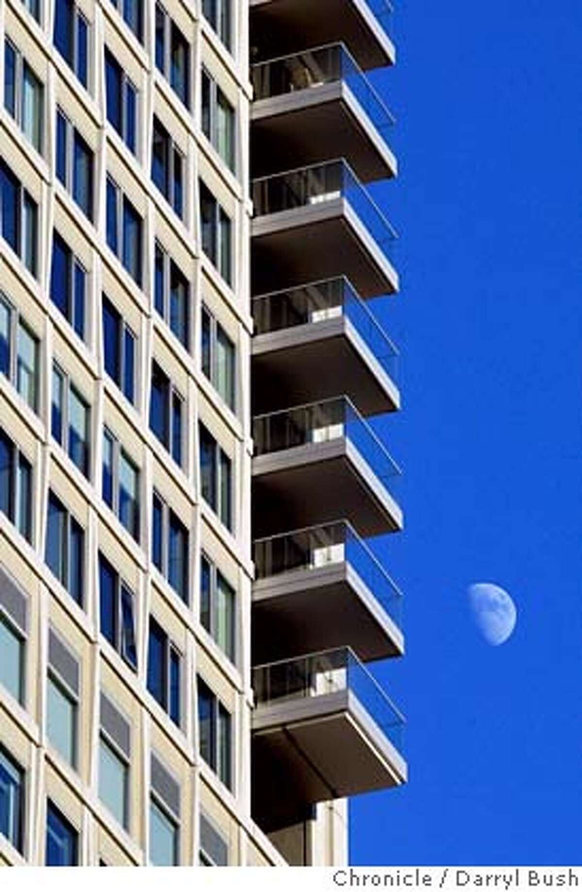 stregis12_0008_db.jpg Balconies near the top of the St. Regis Hotel and Residences at Minna and 3rd Streets. Event on 12/9/05 in San Francisco. Darryl Bush / The Chronicle MANDATORY CREDIT FOR PHOTOG AND SF CHRONICLE/ -MAGS OUT