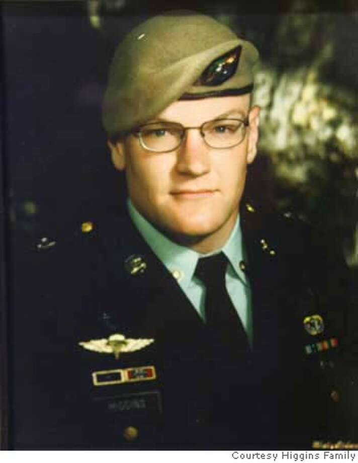 OBIT_HIGGINS_008_KK -.JPG  Sgt. Andrew Higgins of Hayward was killed in Iraq in June 5, 2007  Photo by Kim Komenich/The Chronicle Photo: Courtesy Higgins Family