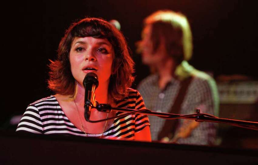 Norah Jones performs her entire new album during the SXSW Music Festival in Austin, Texas on Saturday, March 17, 2012.