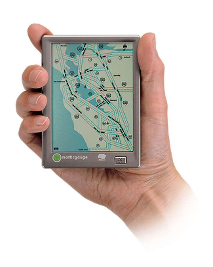Bay Area version of Traffic Gauge mobile traffic map. Photo: Cnet
