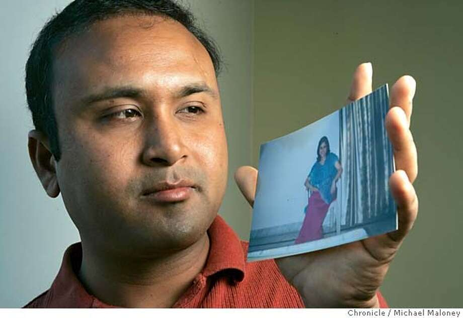 VISA_006_MJM.jpg  Gaurav Negi holds a portrait of his soon to be wife, Rohina Rawat who lives in Dehraduni, India. The two plan to marry on the 10th of December.  Legal permanent residents, or green card holders, can't bring their spouses into the country until they become U.S. citizens, which sometimes means a five-year separation. Unite Families is a group that has been petitioning lawmakers to change the laws. Gaurav Negi works for Cisco Systems in Milpitas and is a Unite Families member who will get married in December, although he knows he'll be returning to the Bay Area without his wife.  Event in Milpitas / CA  Michael Maloney / The Chronicle MANDATORY CREDIT FOR PHOTOG AND SF CHRONICLE/ -MAGS OUT Photo: Michael Maloney