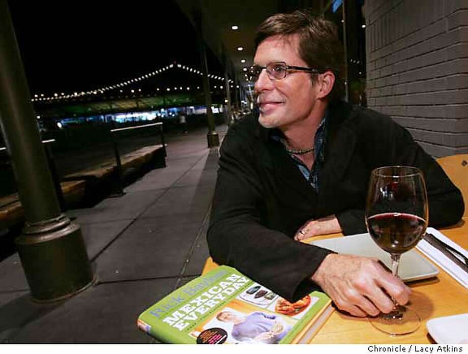 _G2J0015.JPG  Chef Rick at one of his favorite restuants The Slanted Door, in the Ferry building, Nov.8, 2005 in San Francisco. They won't give me his cell.  Event in SAN FRANCISCO on 11/8/05  {photog)/(source} Photo: LACY ATKINS