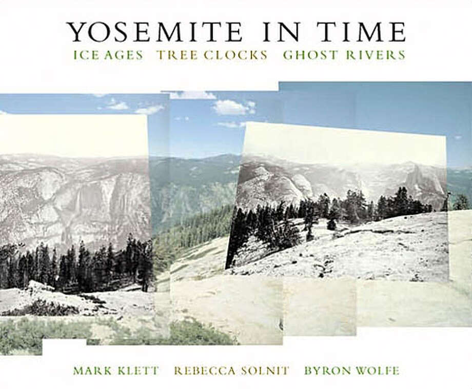 "Book cover art for, ""Yosemite In Time."" Photo: No Byline"