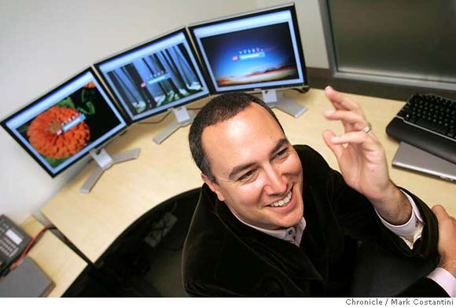 A profile of Ask.com, the Oakland Internet search engine, as it releases a revamped Web site in its continuing effort to compete against Google, Yahoo and Microsoft. Photo is of Jim Lanzone, Ask.com's chief executive. PHOTO: Mark Costantini / The Chronicle Photo: MARK COSTANTINI