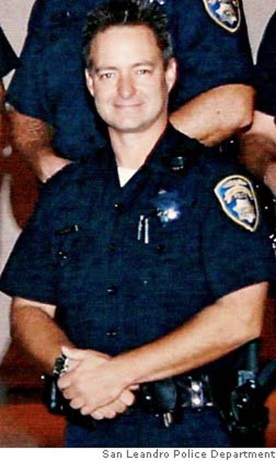 "This undated photo provided by California's San Leandro Police Department shows San Leandro police officer Nels ""Dan"" Niemi. Police launched a statewide search Tuesday for Irving Ramirez, 22, of Newark, Calif., who is wanted for questioning in the shooting death of Niemi, 42. Niemi was shot Monday after answering a complaint about people loitering and making noise. (AP Photo/San Leandro Police Department via the San Francisco Chronicle) Ran on: 08-01-2005  Officer Dan Niemi had been a salesman and a software developer. Ran on: 08-01-2005  Officer Dan Niemi had been a salesman and a software developer. Ran on: 10-13-2005  Irving Ramirez Ran on: 10-13-2005 Ran on: 10-18-2005  Irving Ramirez Ran on: 10-19-2005  Nels &quo;Dan&quo; Niemi Ran on: 10-19-2005  Nels &quo;Dan&quo; Niemi  Ran on: 04-24-2007  Irving Ramirez, on probation and carrying contraband at the time, has admitted to shooting the San Leandro police officer .  ALSO Ran on: 04-24-2007  Irving Ramirez, on probation and carrying contraband at the time, allegedly told his girlfriend he shot a San Leandro police officer.  Ran on: 05-11-2007  Irving Ramirez  ALSO Ran on: 05-11-2007  Irving Ramirez  Ran on: 05-30-2007  Irving Ramirez, who murdered Officer Niemi in 2005, allegedly threatened to kill another officer and his family four years earlier.  Ran on: 05-30-2007 Ran on: 05-30-2007  Irving Ramirez, who murdered Officer Niemi in 2005, allegedly threatened to kill another officer and his family four years earlier.  Ran on: 05-30-2007 Ran on: 05-30-2007 Ran on: 05-30-2007 Ran on: 05-30-2007 Ran on: 05-30-2007 NO SALES MAGS OUT Photo: Bbbbbbb"