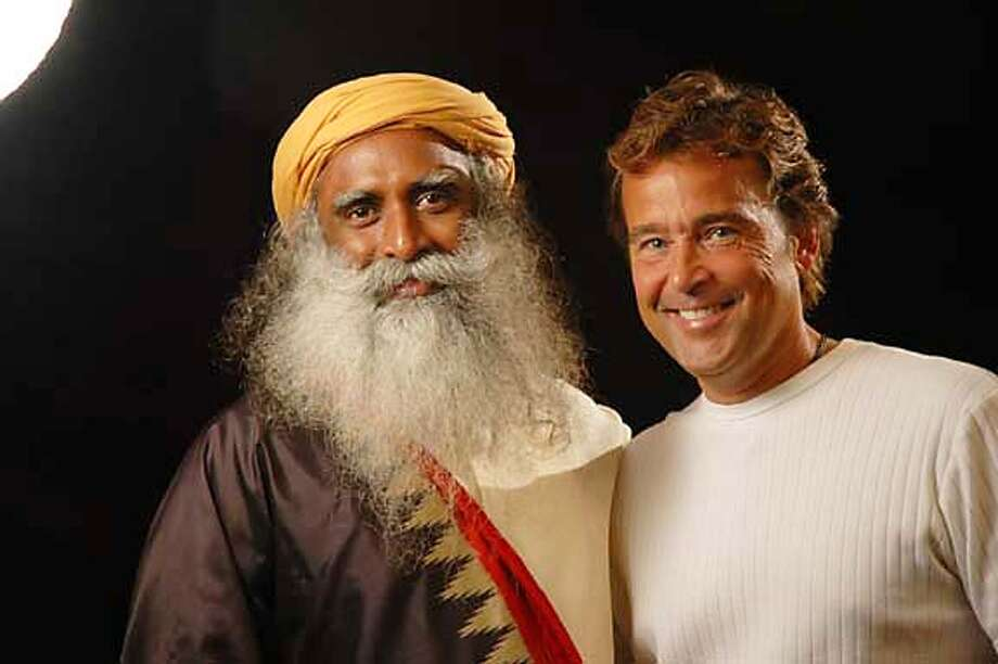 "For ""One"", Sadhguru Jaggi Vasudev, left, and filmmaker Ward Powers Photo: Www.onethemovie.org"