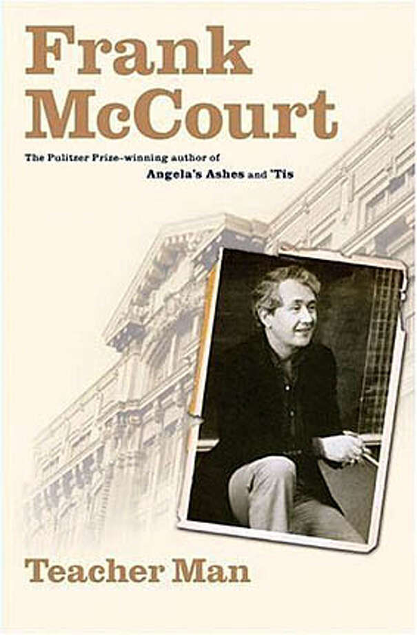 "Book cover art for, ""Teacher Man"" A Memoir (Hardcover) by Frank McCourt. Photo: NO BYLINE"