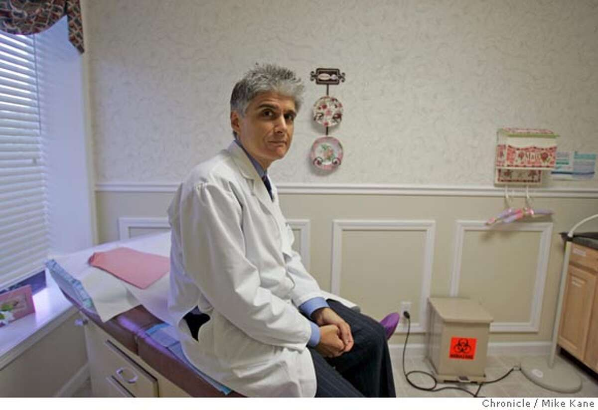 GSHOTXX_855_MBK.JPG Gynecologist Dr. Justin Salerno sits in his office in Vacaville, CA, on Thursday, May, 24, 2007. photo taken: 5/24/07 Mike Kane / The Chronicle *Justin Salerno