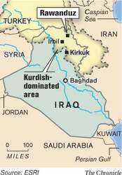 As war rages below, Iraqi Kurds lure tourists - SFGate