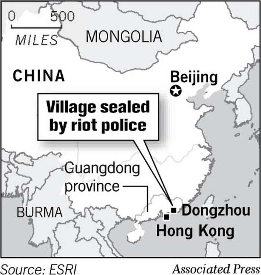 (A3) Village sealed by Police