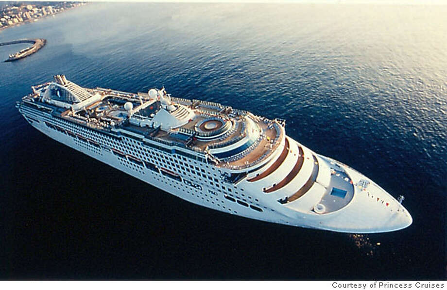 TRAVEL CRUISE -- Handout photo of Princess Cruises' ship Sun Princess. The company plans to base the ship in Australia later this year, making it the first large ship stationed Down Under full time. Courtesy Princess Cruises Photo: Courtesy Princess Cruises