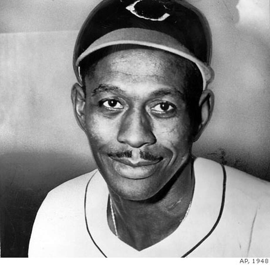 Baseball player, Satchel Paige  From the Chronicle archives, 1948 Photo: Chron Library