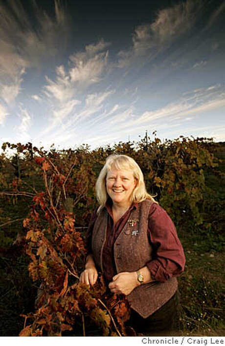 For Winemakers of the Year package. Photo of Carol Shelton in her Zinfandel vineyard.  Event on 11/17/05 in Ukiah. Craig Lee / The Chronicle Photo: Craig Lee