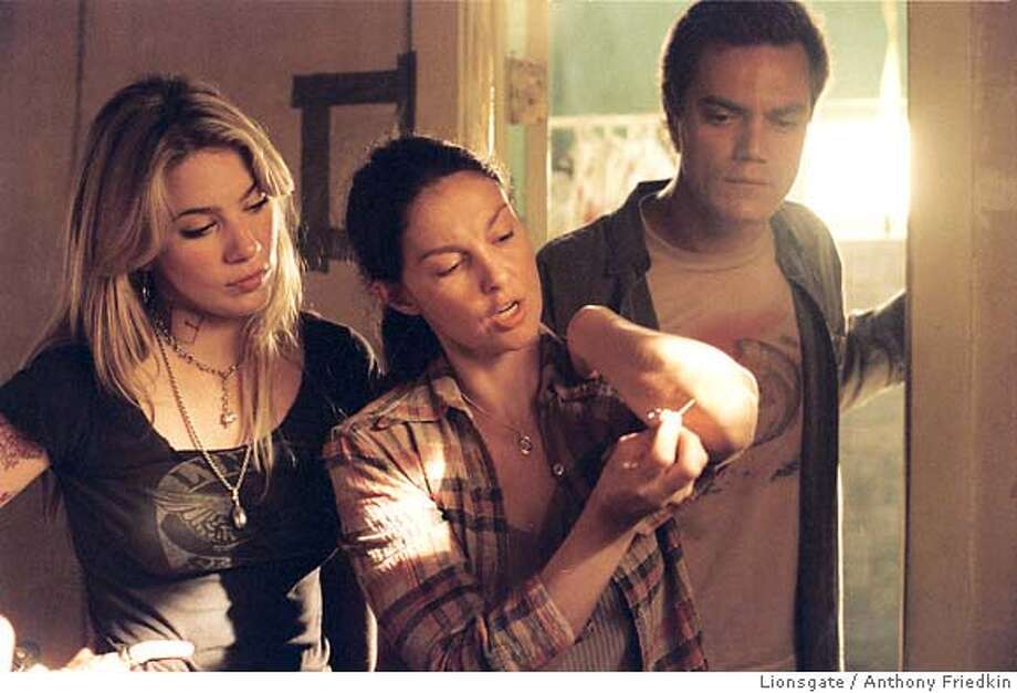 R.C. (Lynn Collins), Agnes White (Ashley Judd) and Peter Evans (Michael Shannon) in William Friedkin's BUG. Photo credit: Anthony Friedkin Photo: Anthony Friedkin