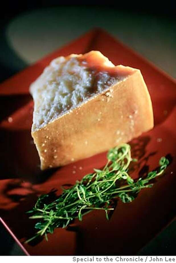 CHEESE01_02_JOHNLEE.JPG  Hombre Parmigiano Reggiano.  By JOHN LEE/SPECIAL TO THE CHRONICLE Photo: JOHN LEE