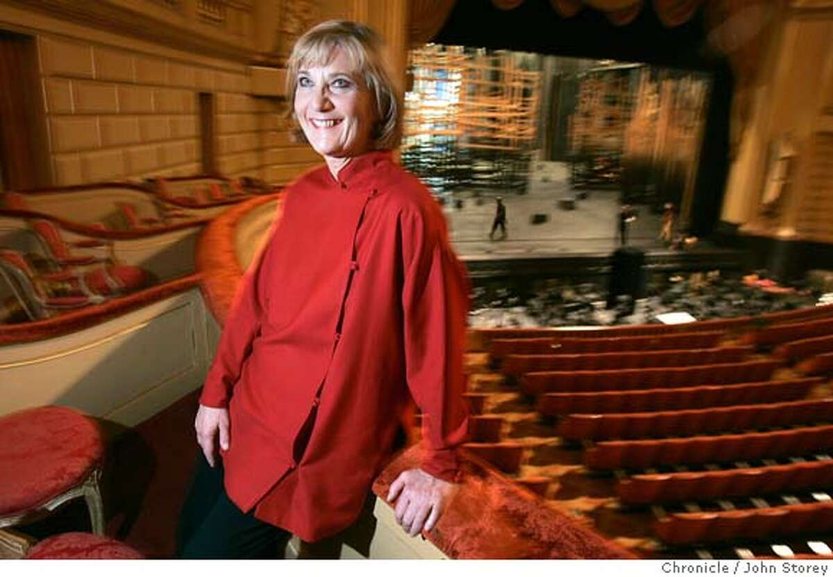 Rosenberg_jrs_0190.jpg Retiring head of the SF Opera, Pamela Rosenberg, at the Opera House. John Storey San Francisco Event on 11/18/05 MANDATORY CREDIT FOR PHOTOG AND SF CHRONICLE/ -MAGS OUT