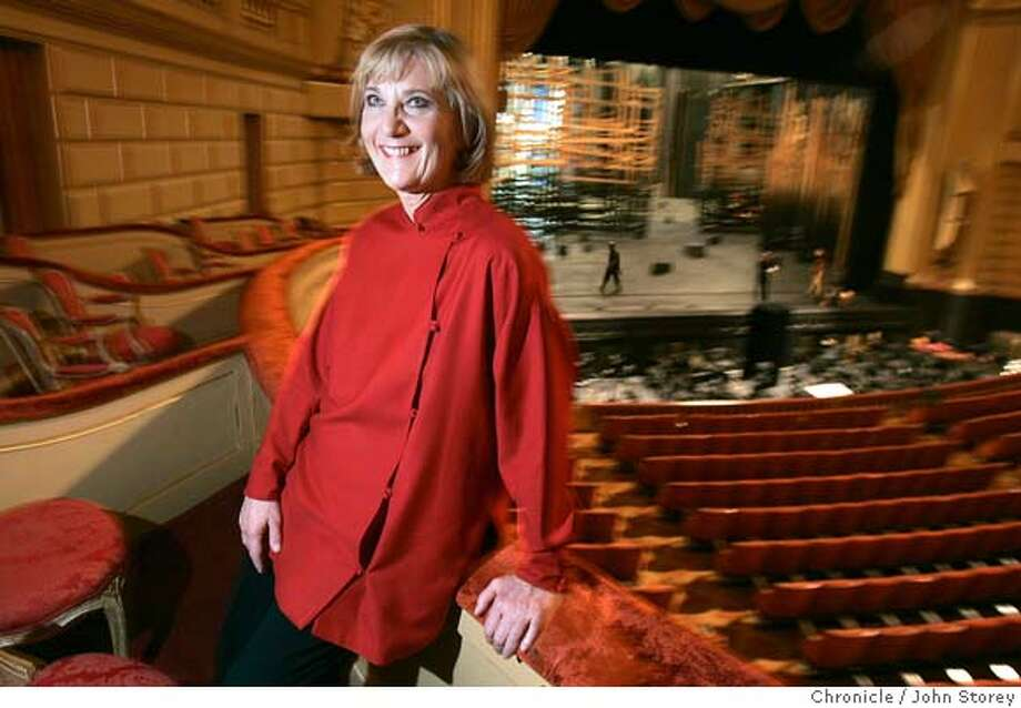 Rosenberg_jrs_0190.jpg  Retiring head of the SF Opera, Pamela Rosenberg, at the Opera House.  John Storey San Francisco Event on 11/18/05 MANDATORY CREDIT FOR PHOTOG AND SF CHRONICLE/ -MAGS OUT Photo: John Storey
