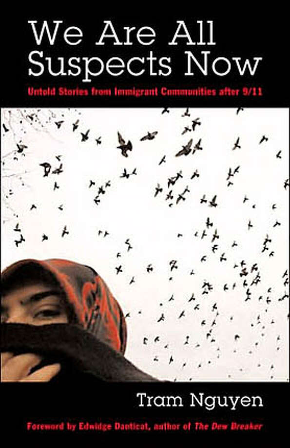 "Book cover art for, ""We Are All Suspects Now"" by Tram Nguyen. Photo: No Byline"