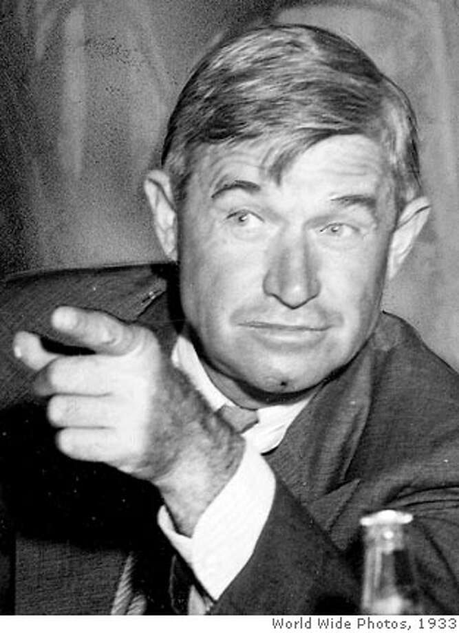 .jpg Will Rogers World Wide Photos/ 1933  Ran on: 05-27-2007  Will Rogers: His son had a broken finger, and couldn't play polo. Photo: World Wide Photos