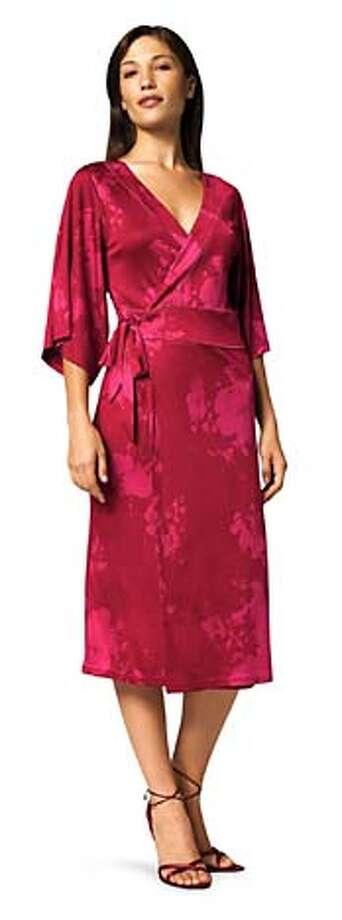 geisha kimono wrap dress Photo: Handout