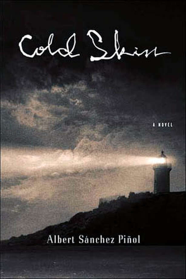 "Book cover art for, ""Cold Skin"" A Novel by Albert Sanchez Pinol. Photo: No Byline"