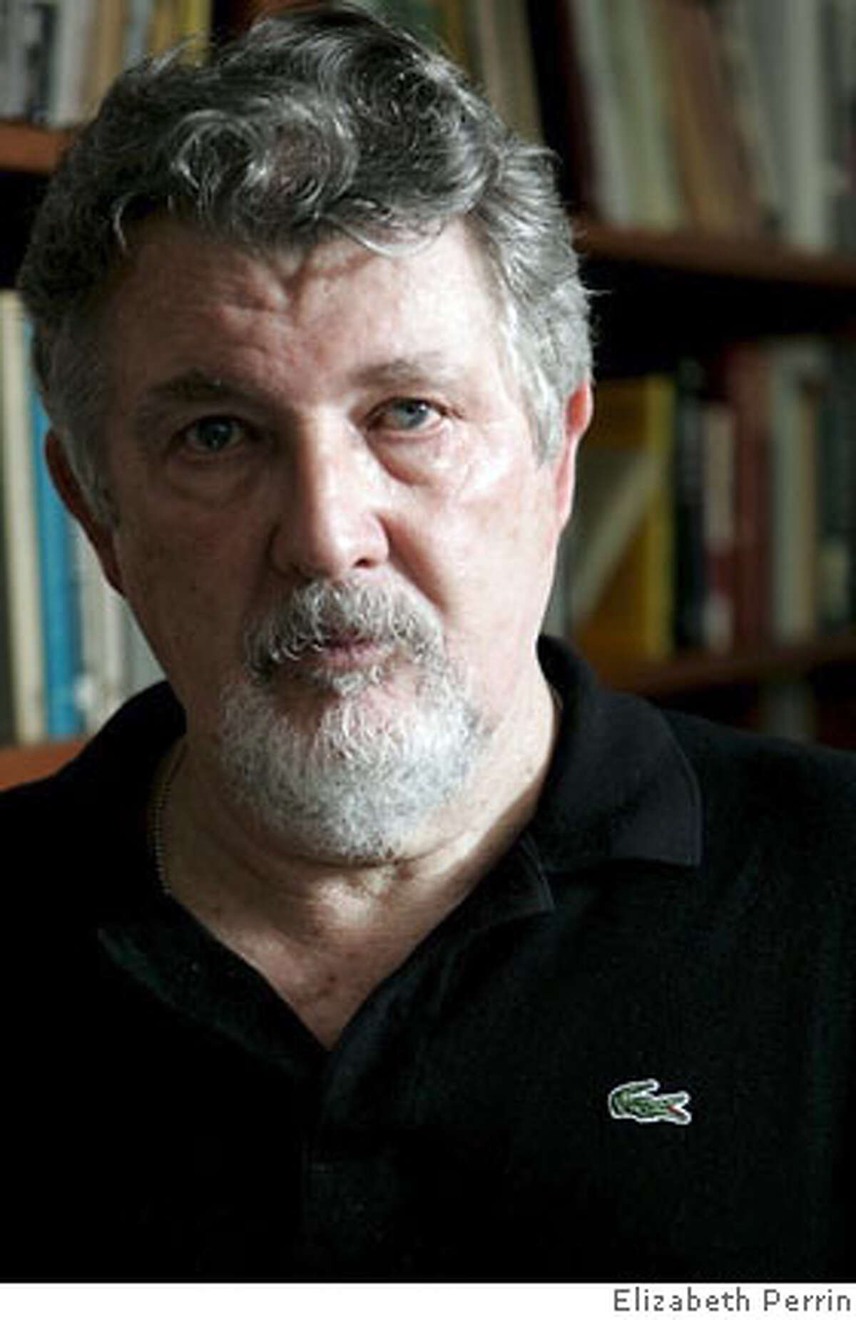 The guy pictured is film director Walter Hill, and the photog is Elizabeth Perrin.