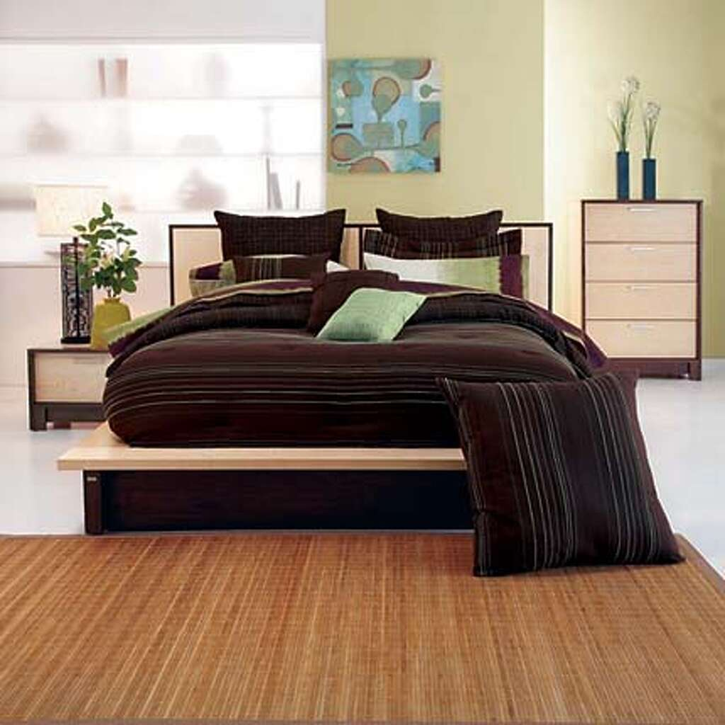Awesome Ty Penningtonu0027s Fuji Collection Of Bedroom Furniture Has A Fresh Look Of  Light And Dark,