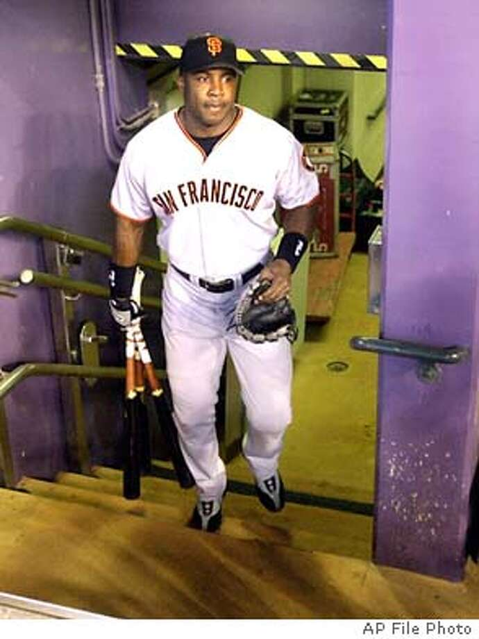 BARRY BONDS Photo: MATT YORK