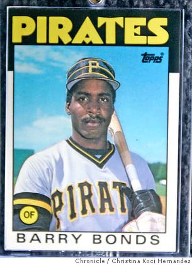 � Barry Bonds 1986 Tops card, not Tiffany.Herbert Gin runs Cards and Comics Central. He's a veteran of the baseball card ups and downs and has some stories about the way the market has gone bust. Cards and Comics Central is one of the few card stores left in the Bay Area. (CHRISTINA KOCI HERNANDEZ/THE CHRONICLE) Mandatory Credit For Photographer and San Francisco Chronicle/No-Sales-Mags Out Photo: Christina Koci Hernandez