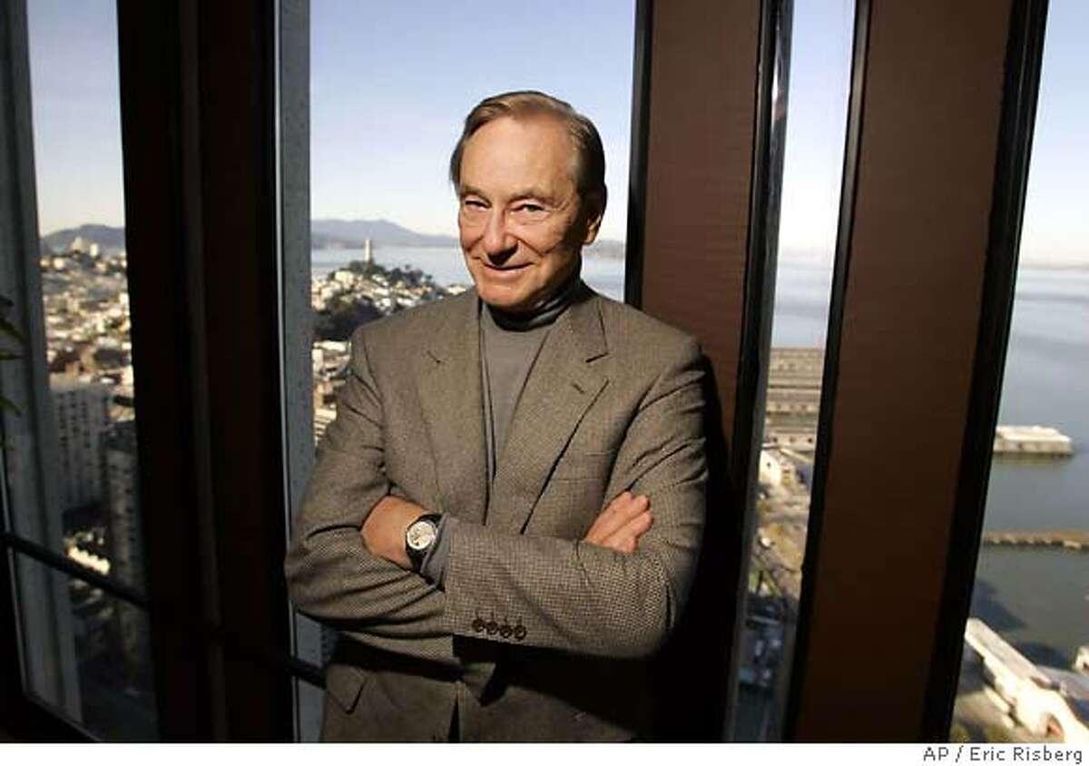 Tom Perkins, 73, author of the novel,