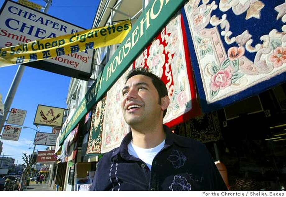 PROFILES29_B710SE.JPG  TJ Hamtini, president of Cheaper Than Cheaper discount store on Clement Street. This is one of a series of short profiles of neighborhood retailers who have managed to carve out a successful niche despite the spread of chain stores, Internet shopping etc..  Shelley Eades /The Chronicle /mandatory credit photog Photo: Shelley Eades