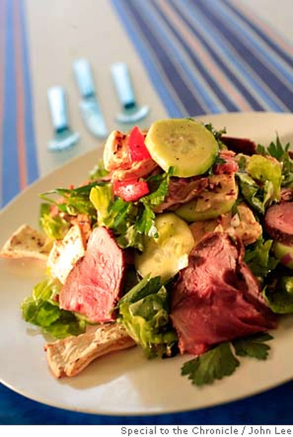PICNIC23_RECIPES_03_JOHNLEE.JPG Fatoosh Salad. By JOHN LEE/SPECIAL TO THE CHRONICLE