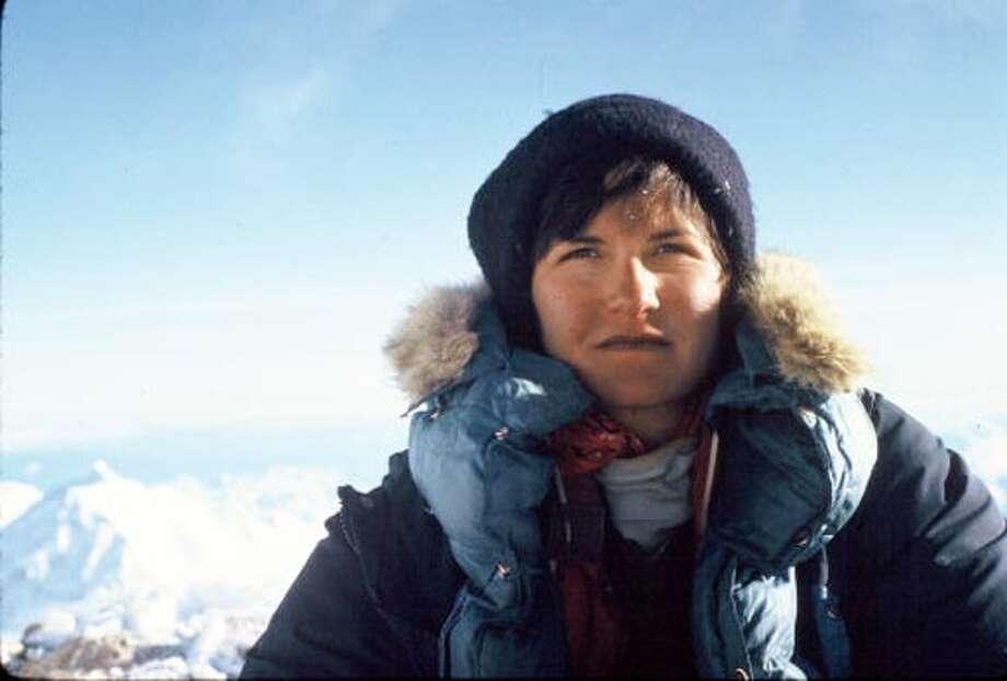 "Photo of of Arlene Blum. Photo: From ""breaking Trail"""