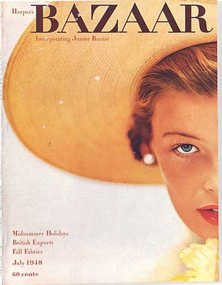 "Image of cover of July 1948 Harper's Bazaar to run with Sylvia Rubin's piece on Penelope Rowlands' biography (""A Dash of Daring"") of Carmel Snow in STYLE section, 11/27/05; ONE-TIME RIGHTS ONLY"