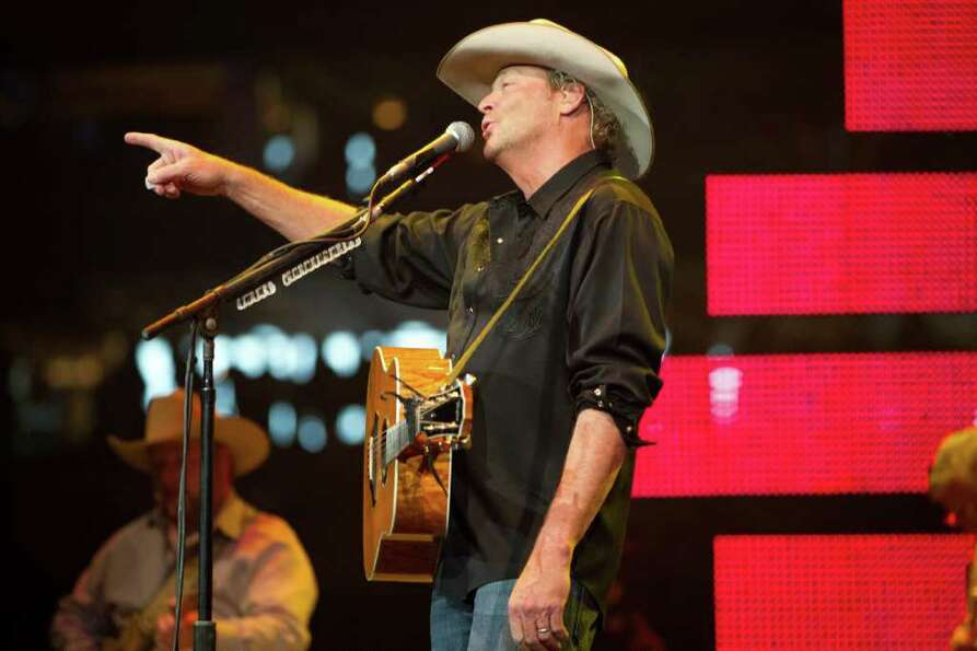 Alan Jackson performs on the final day of the Houston Livestock Show and Rodeo on Sunday, March 18,