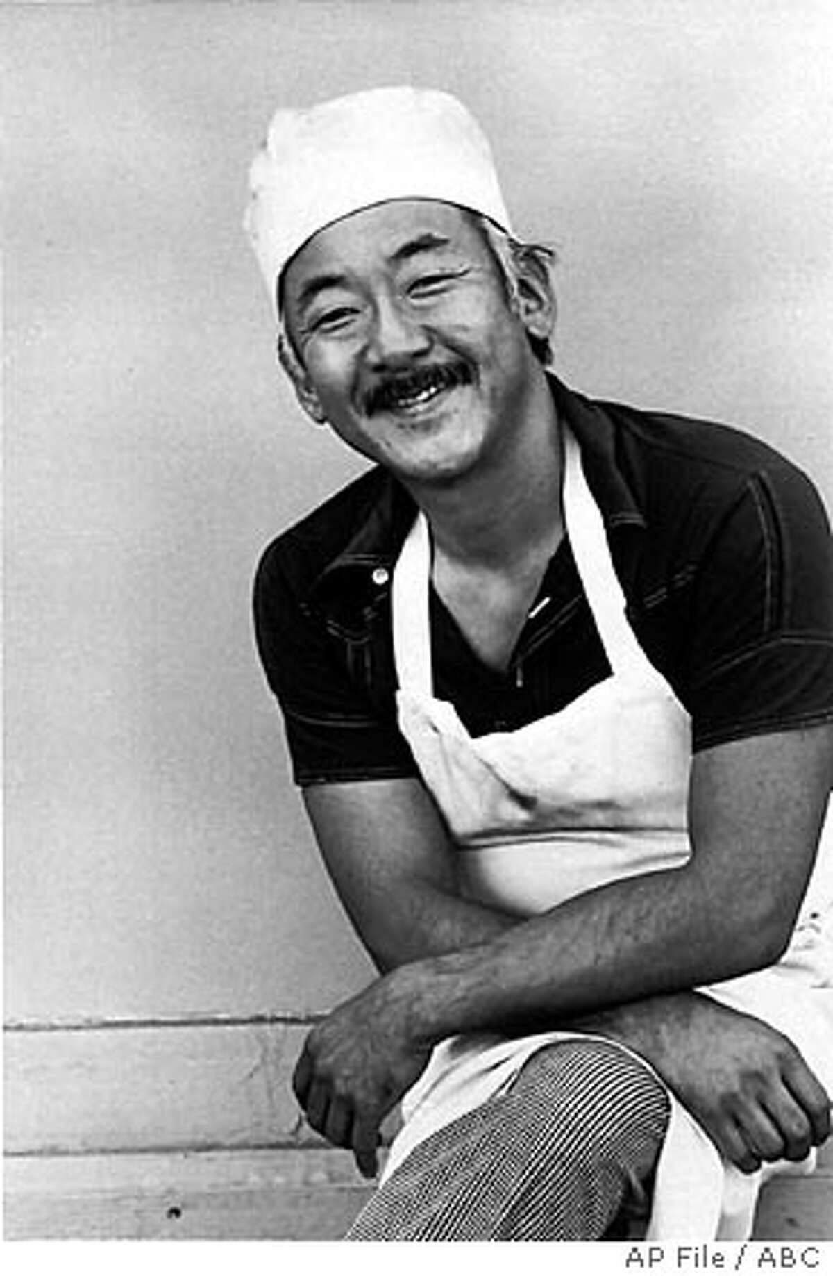 **FILE** In this September 1975 file photo provided by ABC, Pat Morita poses as the character