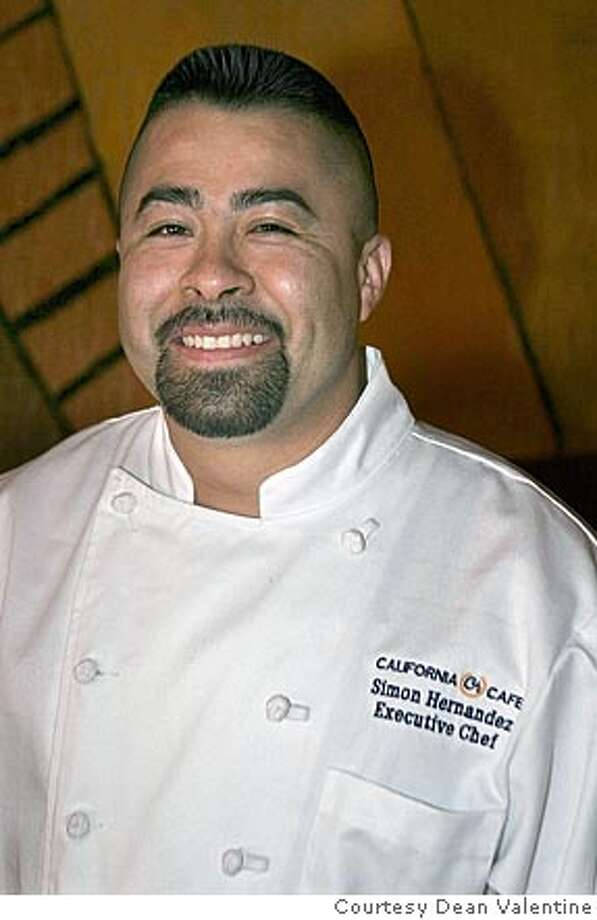 Executive chef Simon Hernandez of California Cafe in Los Gatos. Photo: Courtesy Dean Valentine