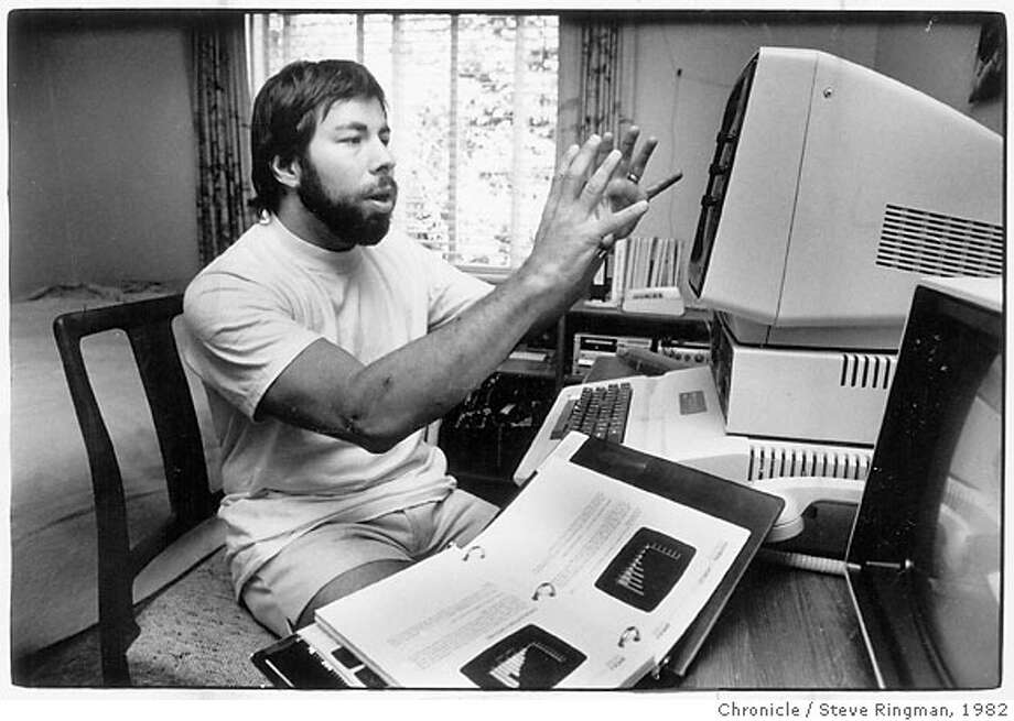 August 10, 1982 - U.S. Festival organizer Steven Wozniak Steve Ringman/ Chronicle File Photo 1982 Photo: Steve Ringman