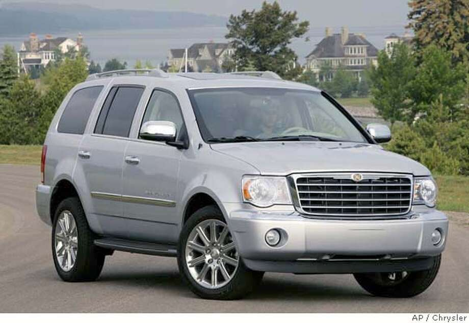This undated photo provided by Chrysler shows the 2007 Chrysler Aspen SUV. (AP Photo/Chrysler) Photo: Photo Courtesy Chrysler