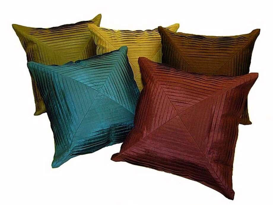 Silk Cushions- $19.50 For more information please visit www.oldshanghaionline.com  / HO