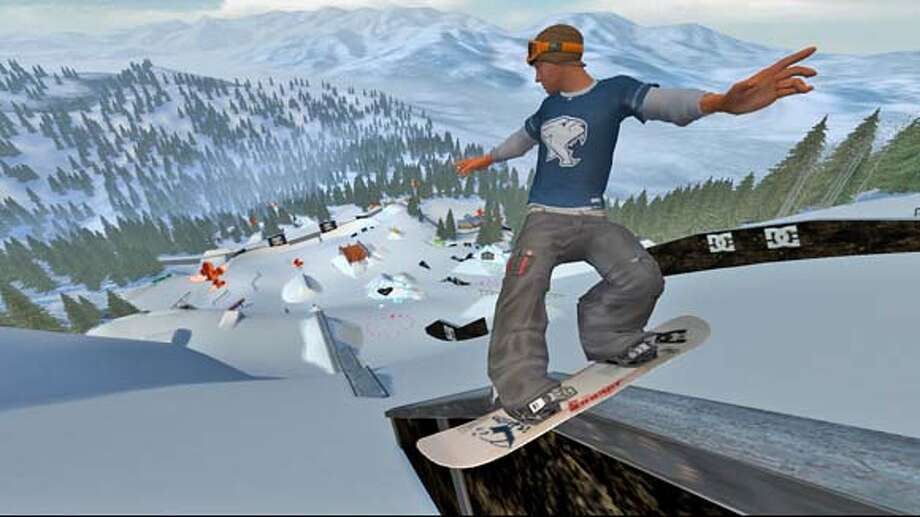 Real-life pro snowboarder Devun Walsh gets some sick air in Amped 3, the first snowboarding game for the Xbox 360. Amped 3 and the Xbox 360 come out on Tuesday.