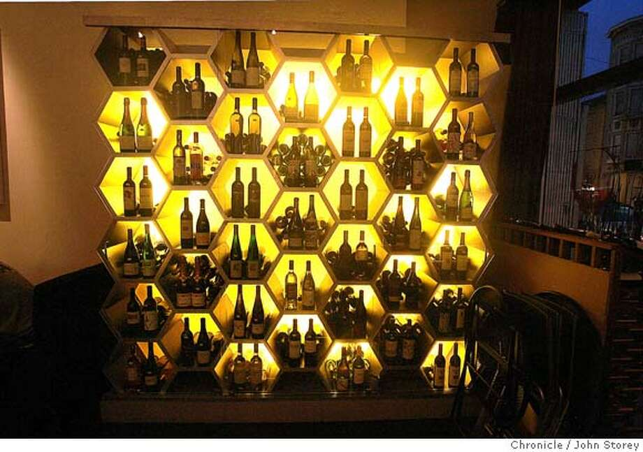 "Review of the wine bar ""Nectar"" in the Marina.  John Storey San Francisco Event on 11/1/05 Photo: John Storey"