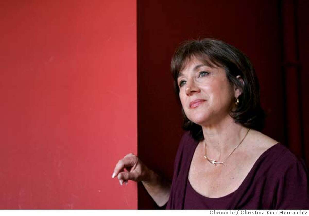 Betsy Rosenberg is a longtime Bay Area radio journalist who has invested much of the last few years � and more than $100,000 from her retirement fund � to keep her nationally-broadcast environmental program on the air. But she may lose her pioneering show this month. (Christina Koci Hernandez/The Chronicle) CHRONICLE Photos by Christina Koci Hernandez