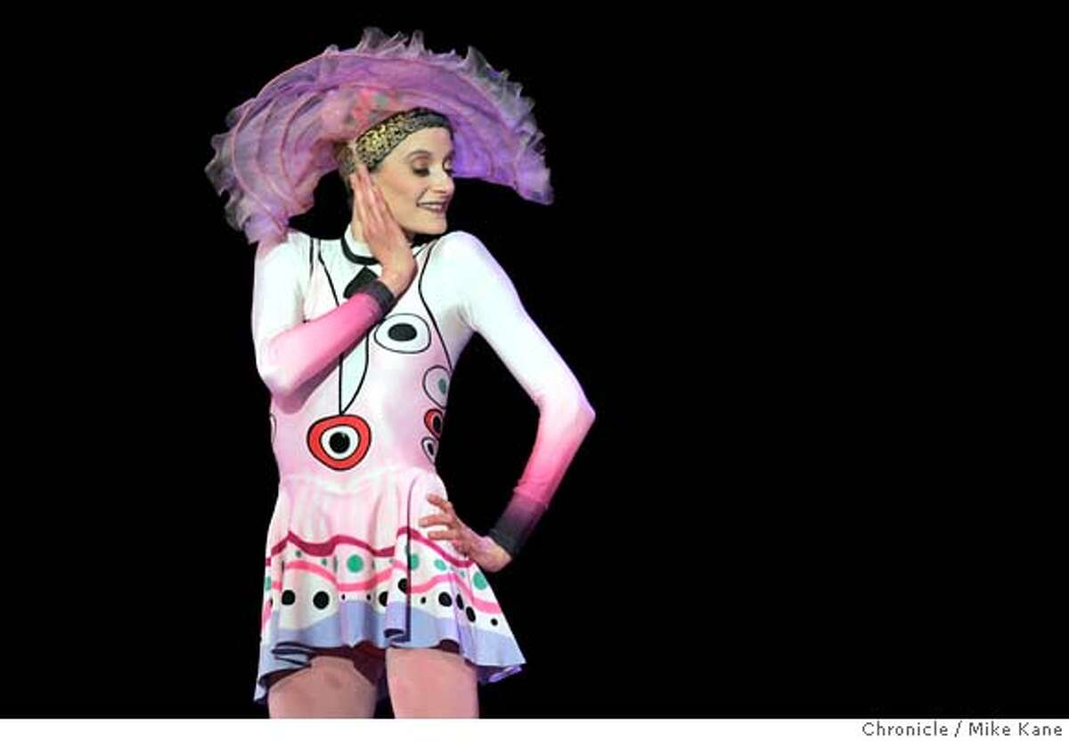 MAFFRE_006_MBK.JPG San Francisco Ballet's Muriel Maffre performs a section of Elite Syncopations during a dress rehearsal of the upcoming farewell performance for her, a longtime and beloved SF ballet dancer, at War Memorial Opera HouseSan Francisco, CA, on Friday, May, 4, 2007. photo taken: 5/4/07 Mike Kane / The Chronicle ** Muriel Maffre MANDATORY CREDIT FOR PHOTOG AND SF CHRONICLE/NO SALES-MAGS OUT