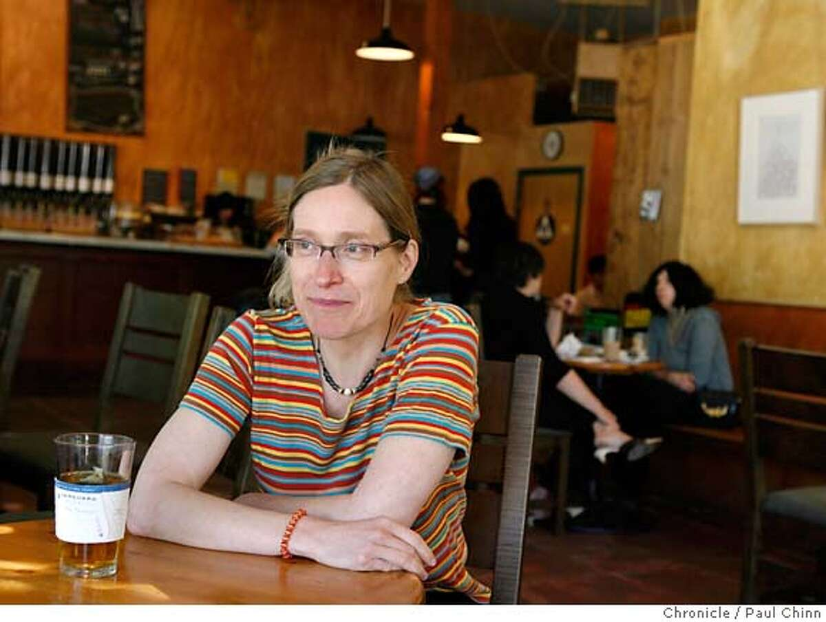 For the Style section's On The Town feature: Author Nona Casper enjoys a peppermint tea at the Bean There Cafe in San Francisco, Calif. on Friday, March 30, 2007. PAUL CHINN/The Chronicle **Nona Casper MANDATORY CREDIT FOR PHOTOGRAPHER AND S.F. CHRONICLE/NO SALES - MAGS OUT