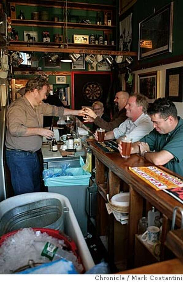 GET COZY: tiny San Francisco restaurants, bars, and cafes to loveThe Black Horse London Pub: Known as SF's smallest pub at about 150 sq. ft.1514 Union St. Photo: Mark Costantini