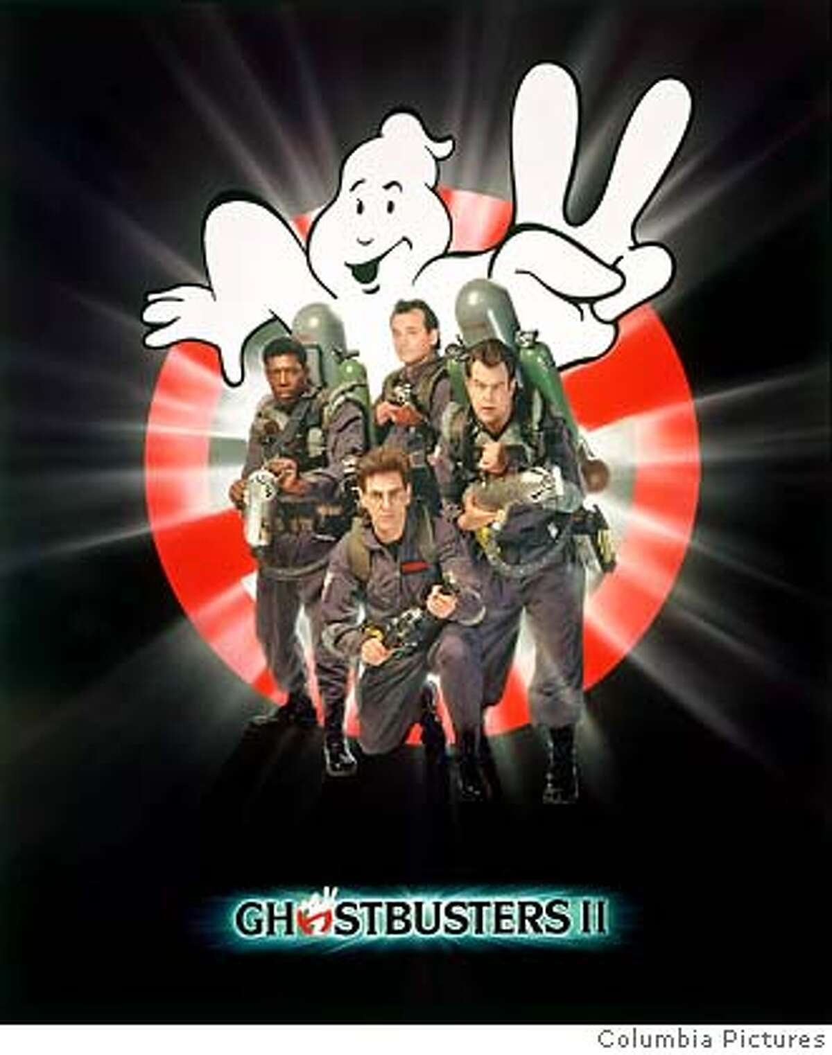 Jun 06, 1989; New York, NY, USA; Poster art for the sci-fi comedy adventure Ghostbusters II directed by Ivan Reitman. Mandatory Credit: Photo by Columbia Pictures Corporation/ZUMA Press. (�) Copyright 1989 by Courtesy of Columbia Pictures Corporation [Photo via NewsCom] For Editorial Use ONLY! Copyright Columbia Pictures Corporation!