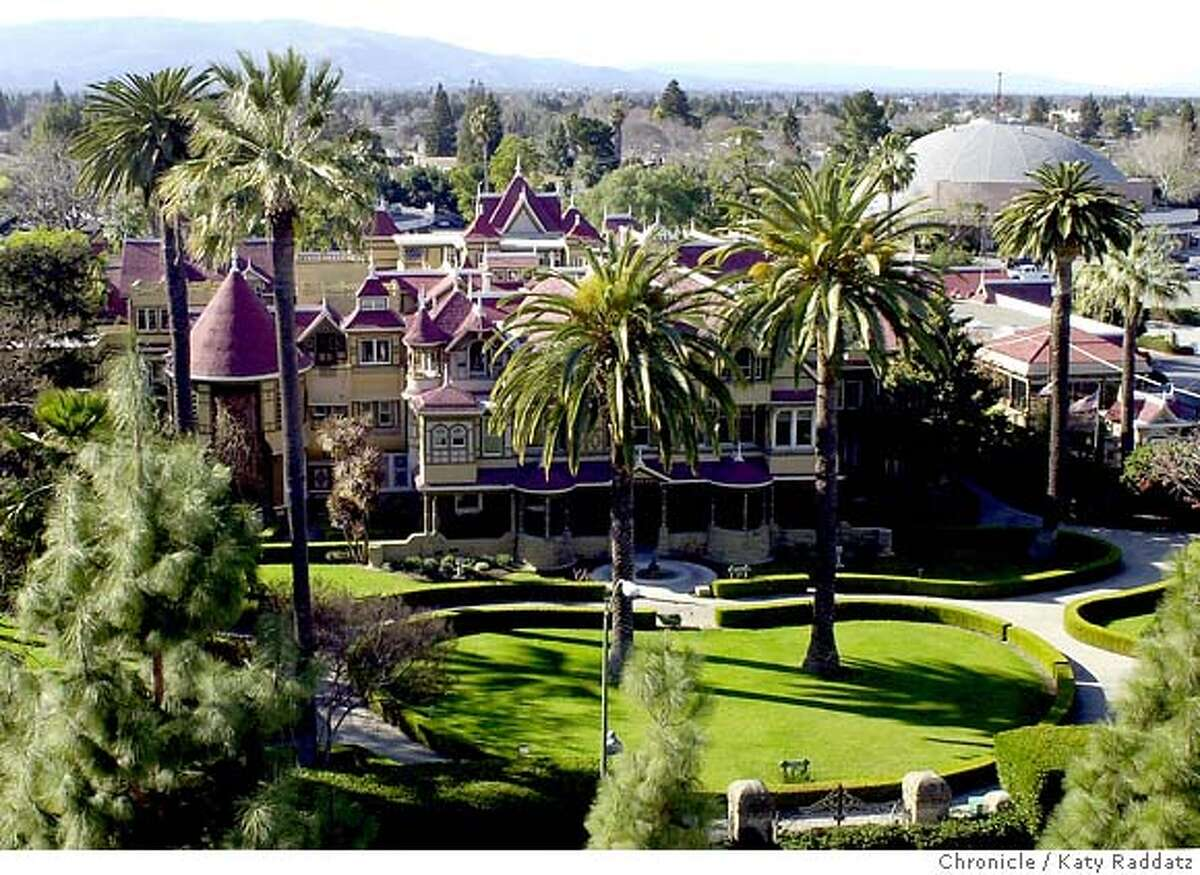 WINCHESTERb-C-31JAN02-MN-RAD Photo by Katy Raddatz--The Chronicle The Winchester Mystery House in San Jose.