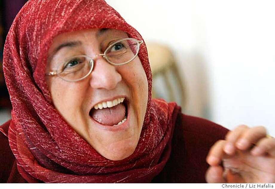 .JPG Sakeena Yacoobi, an Afghan woman who went to school in northern California in the early 1970s, founded the Afghan Institute of Learning (AIL), which has programs helping 350,000 Afghan women and children every year. Liz Hafalia/The Chronicle/San Francisco/4/17/07  *Sakeena Yacoobi cq �2007, San Francisco Chronicle/ Liz Hafalia  MANDATORY CREDIT FOR PHOTOG AND SAN FRANCISCO CHRONICLE. NO SALES- MAGS OUT. Photo: Liz Hafalia